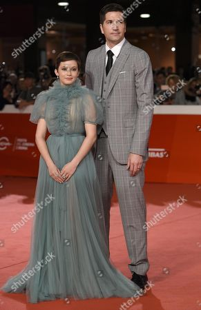 US filmmaker Drew Goddard (R) and US actress Cailee Spaeny arrive for the premiere of 'Bad Times at the El Royale' at the 13th annual Rome Film Festival, in Rome, Italy, 18 October 2018. The film festival runs from 18 to 28 October.