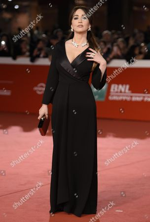 Italian actress Chiara Francini arrives for the premiere of 'Bad Times at the El Royale' and for the opening ceremony of the 13th annual Rome Film Festival, in Rome, Italy, 18 October 2018. The film festival runs from 18 to 28 October.