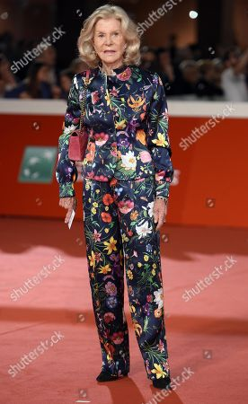 Italian producer Marina Cicogna arrives for the premiere of 'Bad Times at the El Royale' and for the opening ceremony of the 13th annual Rome Film Festival, in Rome, Italy, 18 October 2018. The film festival runs from 18 to 28 October.