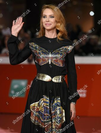 Italian actress Yvonne Scio arrives for the premiere of 'Bad Times at the El Royale' and for the opening ceremony of the 13th annual Rome Film Festival, in Rome, Italy, 18 October 2018. The film festival runs from 18 to 28 October.