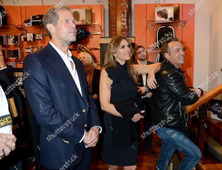 Editorial photo of Henry Cole 'A Biker's Life' book launch, Warr's Harley-Davidson, London, UK - 18 Oct 2018