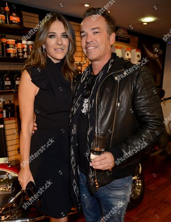 Elizabeth Hurley and Henry Dent-Brocklehurst
