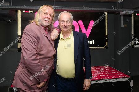 Rick Wakeman and Paul Gambaccini