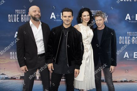Edward Sabin (executive), Michael Malarkey, Laura Mennell, Aidan Gillen