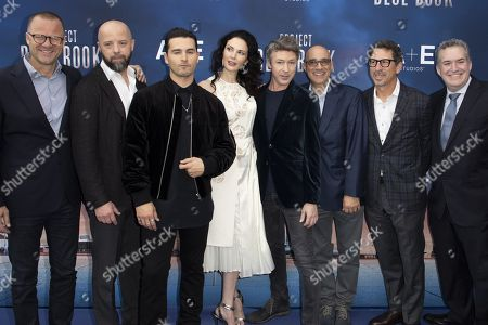Editorial image of 'Project Blue Book' photocall, MIPCOM, Cannes, France - 16 Oct 2018