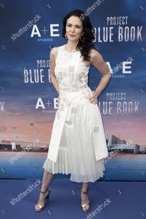Editorial photo of 'Project Blue Book' photocall, MIPCOM, Cannes, France - 16 Oct 2018