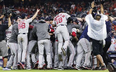 Boston Red Sox v Houston Astros ALCS Stock Photos (Exclusive