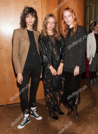 Mica Arganaraz, Kiki Willems and Petra Collins
