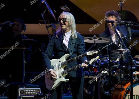 """Davey Johnstone performs onstage during Elton John's """"Farewell Yellow Brick Road"""" final tour at Madison Square Garden, in New York"""
