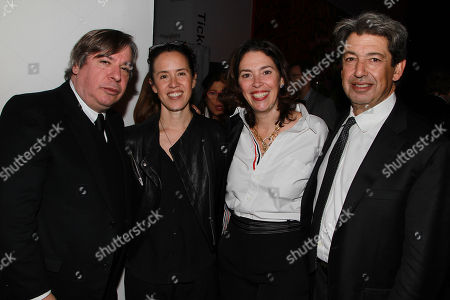 George Condo, Sara Sze, Amy Cappelllazzo and Paul schimmel
