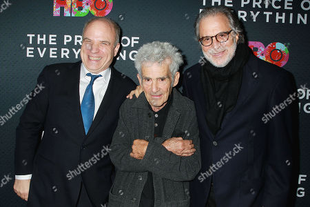 Nathaniel Kahn, Larry Poons and Clifford Ross