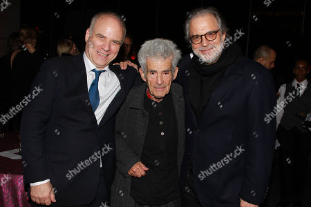 Nathaniel Kahn, Larry Poons and Cliford Ross