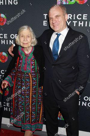 Nathaniel Kahn with Harriet Pattison