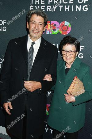 Paul Schimmel and Marian Goodman