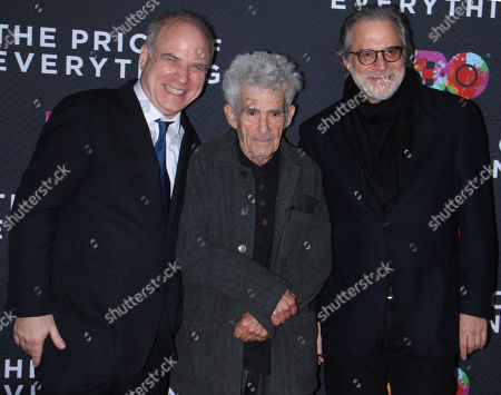 Nathaniel Kahn, Larry Poons, Clifford Ross
