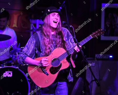 Editorial image of Sawyer Fredericks in concert at The Funky Biscuit, Boca Raton, USA - 18 Oct 2018