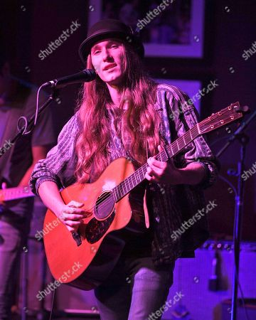 Editorial picture of Sawyer Fredericks in concert at The Funky Biscuit, Boca Raton, USA - 18 Oct 2018