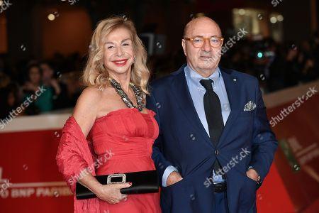 The scenographers Francesca Lo Schiavo, Dante Ferretti