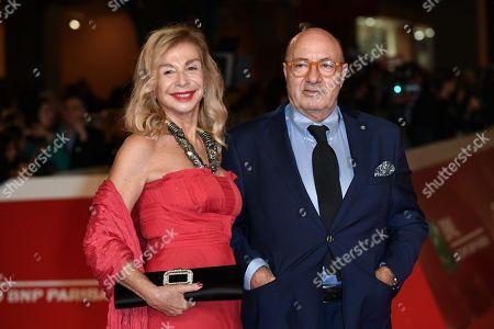 The scenographers Francesca Lo Schiavo, Dante Ferretti,