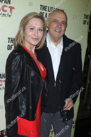 Stock Picture of Kasia Tambor and Jeffrey Tambor