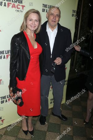 Editorial picture of 'Lifespan of a Fact' play opening night, Arrivals, Broadway, New York, USA - 18 Oct 2018
