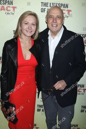 Editorial photo of 'Lifespan of a Fact' play opening night, Arrivals, Broadway, New York, USA - 18 Oct 2018