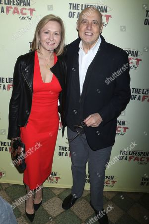 Editorial image of 'Lifespan of a Fact' play opening night, Arrivals, Broadway, New York, USA - 18 Oct 2018