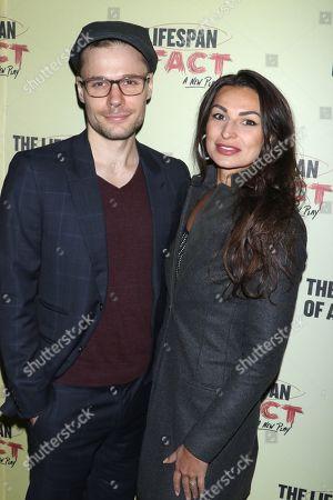 Josiah Bania and Martyna Majok