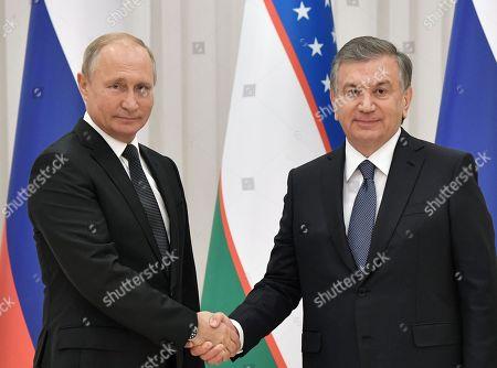 Russian President Vladimir Putin visit to Uzbekistan