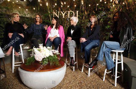 June Diane Raphael, Catt Sadler, Denise Bidot, Maye Musk, Lisa Collier, Gelila Bekele