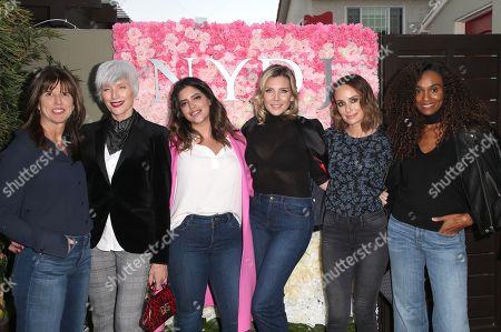 Lisa Collier, Maye Musk, Denise Bidot, June Diane Raphael, Catt Sadler, Gelila Bekele