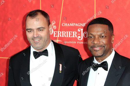 Milutin Gatsby and Chris Tucker