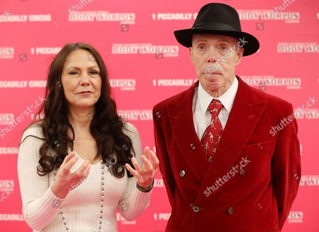 Dr Gunther von Hagens and wife, Angelina Whalley