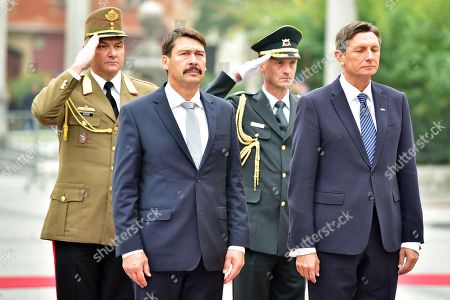 President of Hungary Janos Ader visit to Slovenia