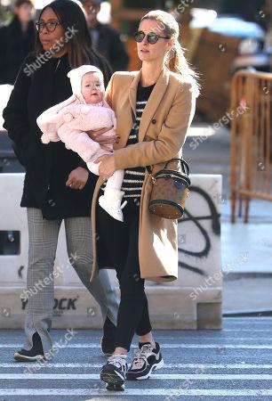 Nicky Hilton Rothschild and Lily Grace Victoria Rothschild
