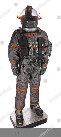 Cooper's (Richard T. Jones) spacesuit from Paul W.S. Anderson's sci-fi horror film Event Horizon.