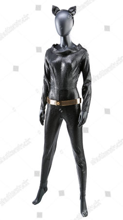 Stock Image of Catwoman's (Julie Newmar) costume from the classic live-action television series Batman.