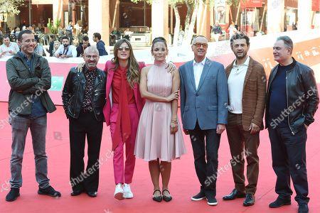 Andrea De Sica, Gianluca Guzzo, Elisa Sednaoui, Ana Ivanova, Barry Morrow, Vinicio Marchioni and Igor Tuveri