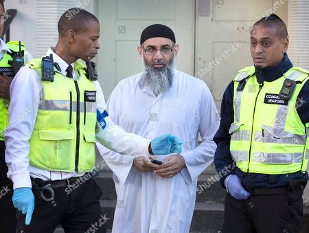 Anjem Choudary released from prison, London
