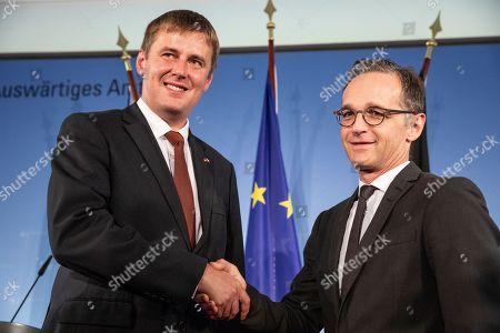 Czech Foreign Minister Tomas Petricek visit to Berlin