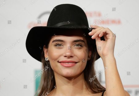 "Actress Eva De Dominici poses during the photo call of the movie ""Sangre Blanca "", (White Blood) at the 13th edition of the Rome Film Fest, in Rome"