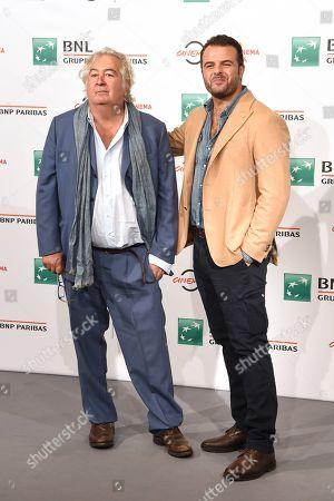 Umberto Contarello scriptwriter and Edoardo De Angelis