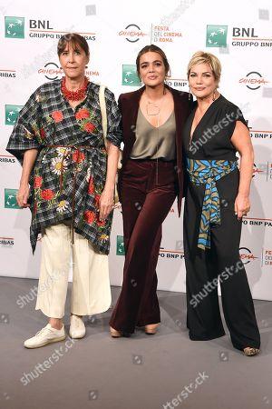 Marina Confalone, Pina Turco and Cristina Donadio