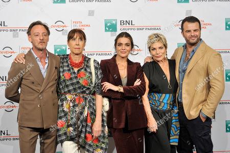 Massimiliano Rossi, Marina Confalone, Pina Turco, Cristina Donadio, Edoardo De Angelis