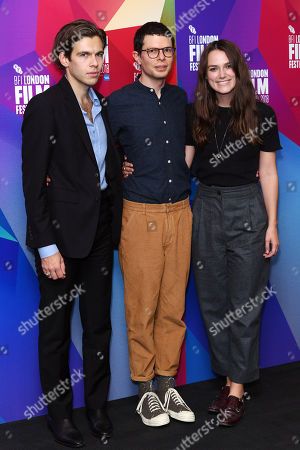 James Righton, Simon Amstell and Keira Knightley