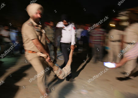 Fatal train accident, Amritsar