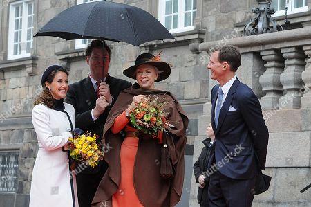 Crown Princess Mary, Princess Benedikte , Prince Joachim