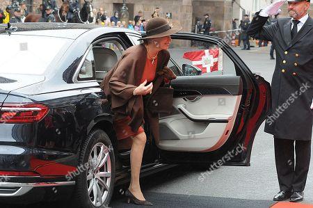 Princess Benedikte arrives