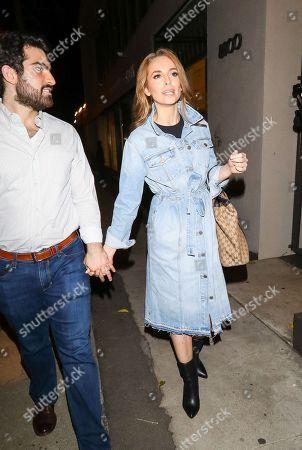 Editorial image of Celebrities at Craig's Restaurant, Los Angeles, USA - 18 Oct 2018