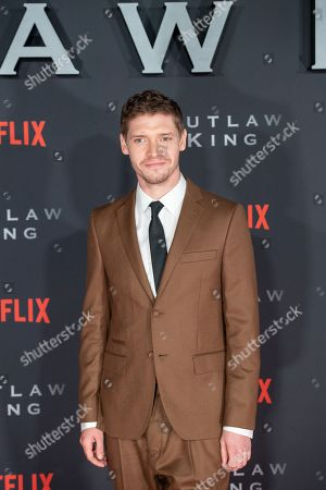 Editorial photo of 'Outlaw King' film premier, Edinburgh, Scotland, UK - 19 Oct 2018